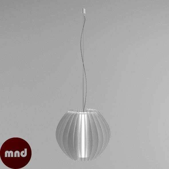 Hanging Full Moon Lamp - 3DOcean Item for Sale