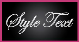 Style Text Photoshop
