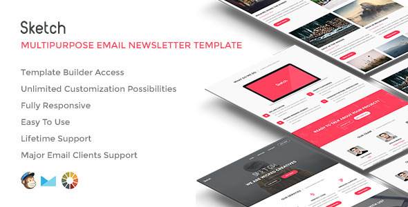 Sketch – Responsive Email w/Builder Access