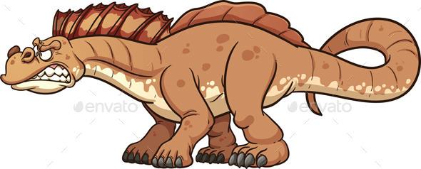 Cartoon Dinosaur - Animals Characters