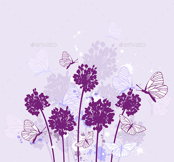 Violet Wildflowers - Flowers & Plants Nature