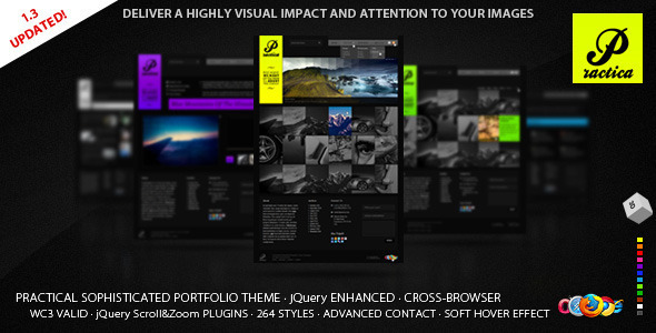 Practica Portfolio – Sophisticated Theme