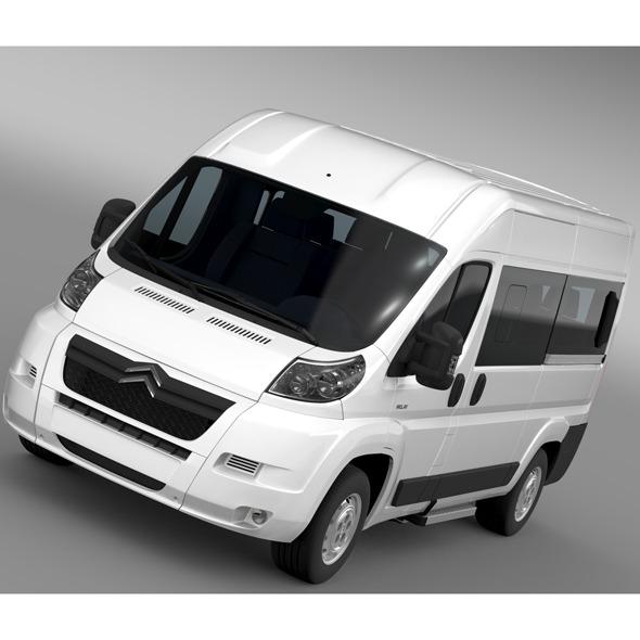 Citroen Relay Window Van L2H2 2006-2014 - 3DOcean Item for Sale