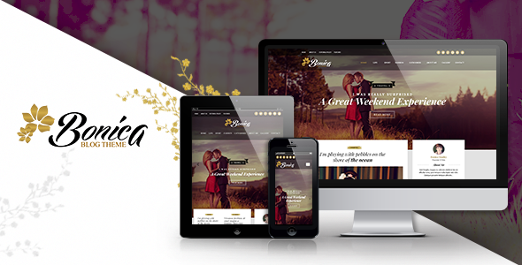 Bonica –  Personal & Blog HTML Template