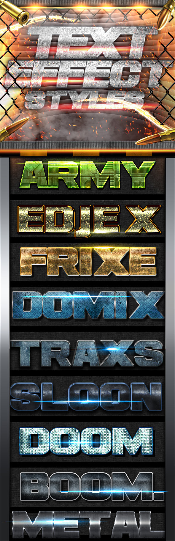 Text Effects Styles FX - Text Effects Styles