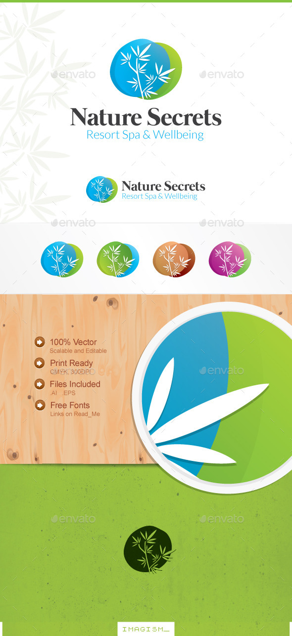 Nature Secrets Logo - Nature Logo Templates
