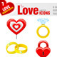 9 Love Icons - GraphicRiver Item for Sale