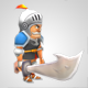 Low Poly Characters - 3DOcean Item for Sale