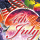 4th July Flyer Template - GraphicRiver Item for Sale