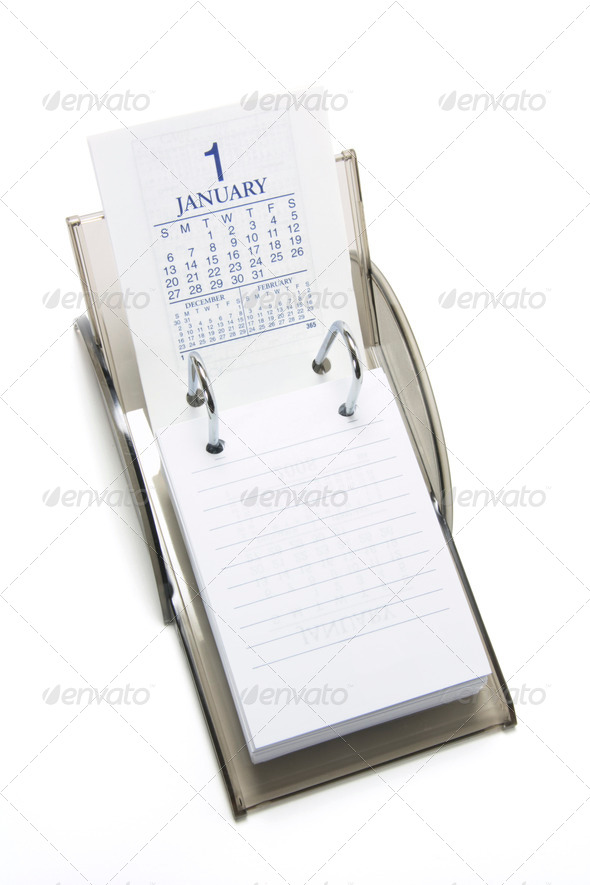 Desktop Calendar - Stock Photo - Images