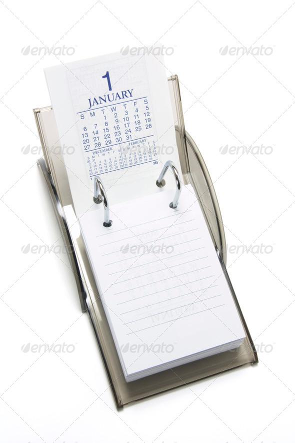 Desktop Calendar - Stock Photo - Images