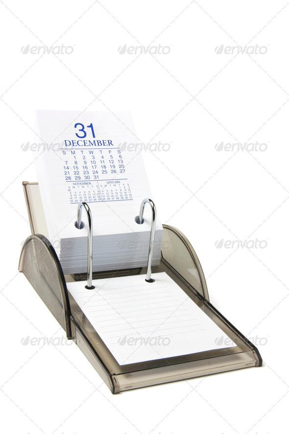 Desk Calendar - Stock Photo - Images