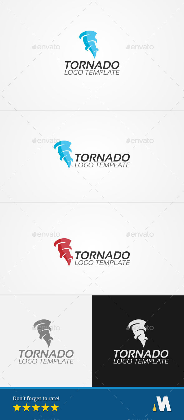tornado or windstorm logo by mnopal graphicriver