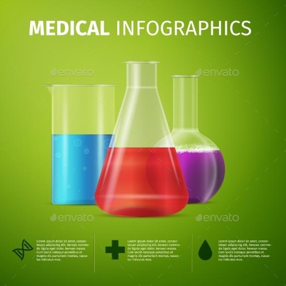 Medical Infographics - Health/Medicine Conceptual