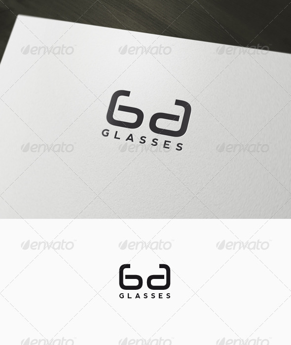 Glasses - Lenses Logo - Letters Logo Templates