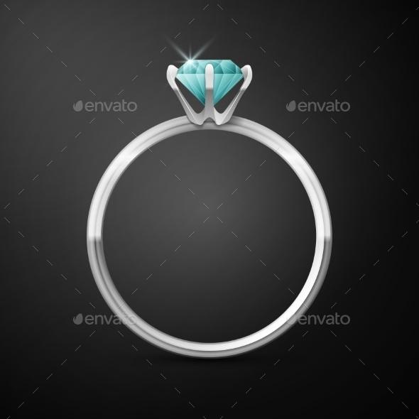 Silver Wedding Ring - Weddings Seasons/Holidays