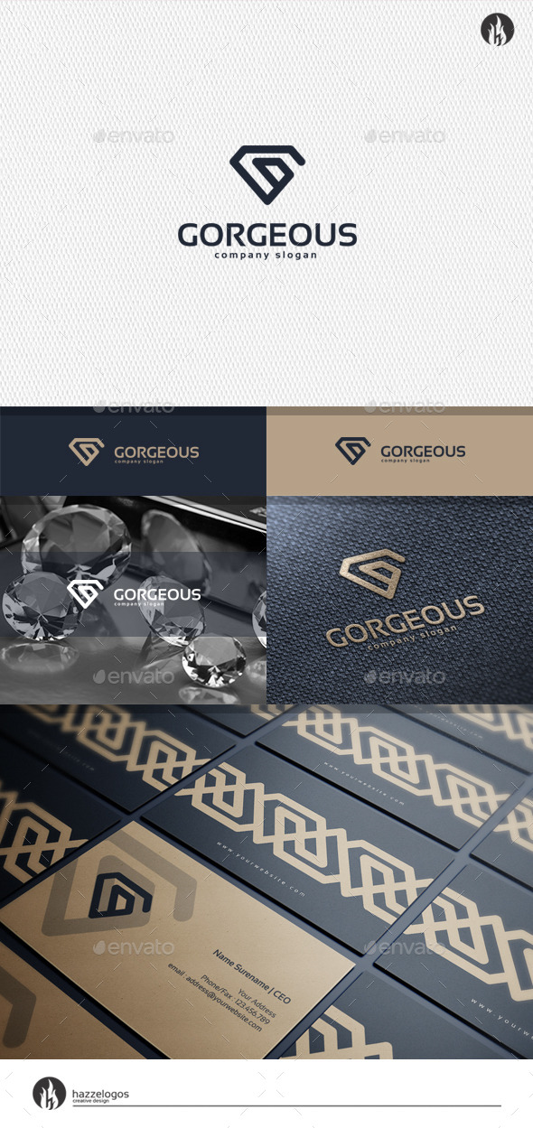 Gorgeous - Letter G Logo - Letters Logo Templates