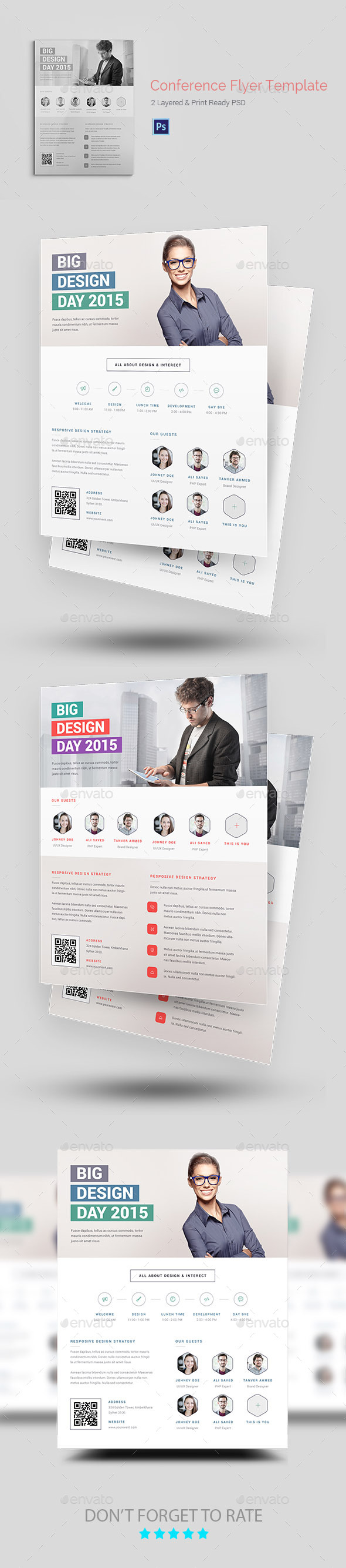 Conference/Event Flyer Templates - Corporate Flyers
