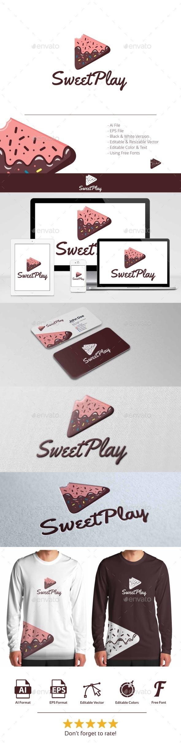 Sweet Play Logo - Symbols Logo Templates