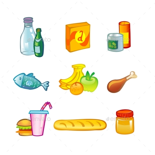 Food Icons - Food Objects
