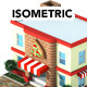 Isometric 3D Render of Building 2 - GraphicRiver Item for Sale