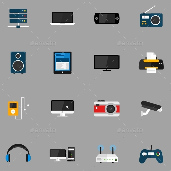 Devices Icons - Technology Icons