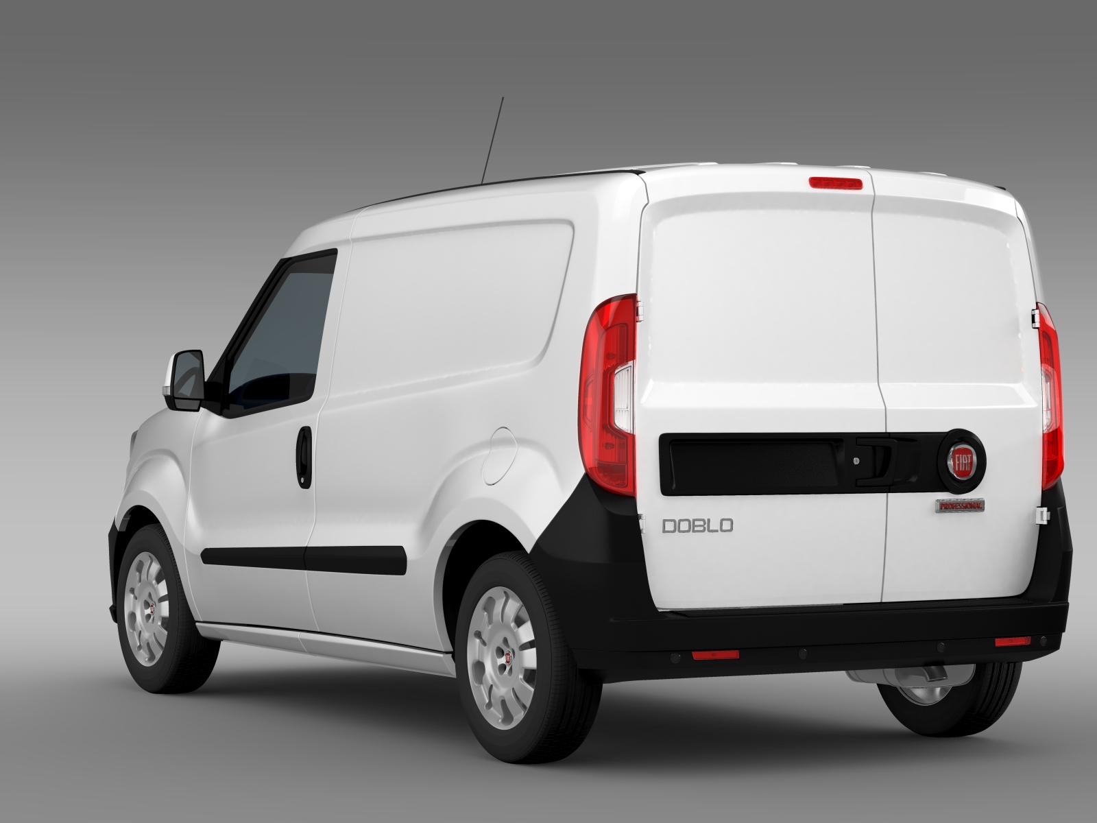 fiat doblo cargo 263 2015 by creator 3d 3docean. Black Bedroom Furniture Sets. Home Design Ideas