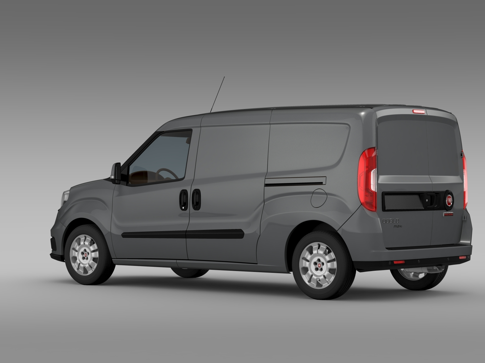 fiat doblo cargo maxi 263 2015 by creator 3d 3docean. Black Bedroom Furniture Sets. Home Design Ideas