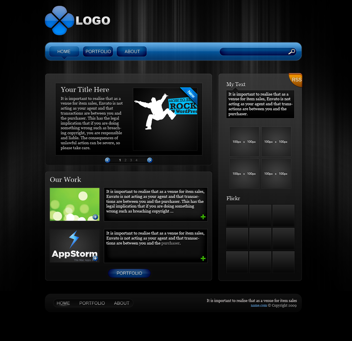 Free Download PSD Template v1 Nulled Latest Version