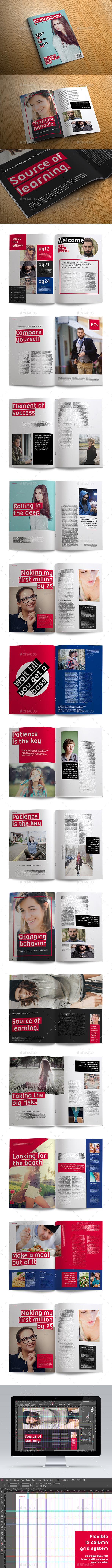Propaganda Magazine - Magazines Print Templates