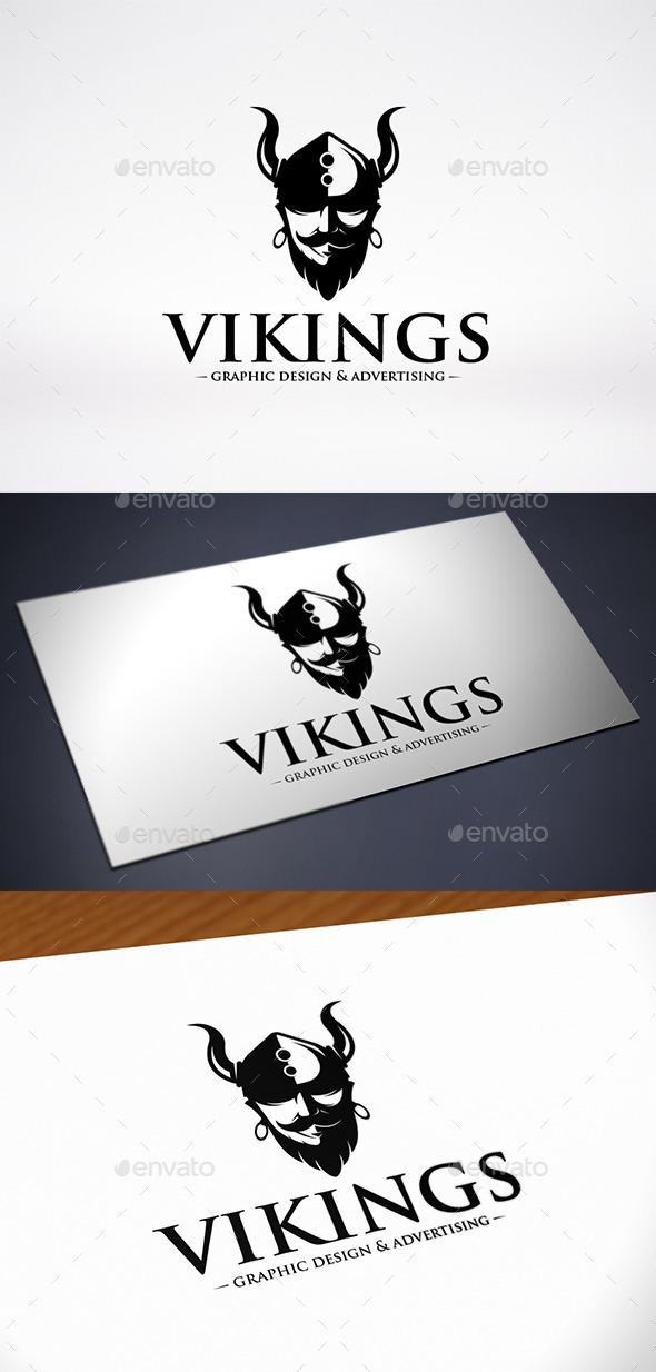 Viking Warrior Logo Template - Humans Logo Templates