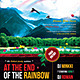 At The End Of The Rainbow Poster/Flyer - GraphicRiver Item for Sale