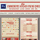 Simple Kitchen Menu Card - GraphicRiver Item for Sale