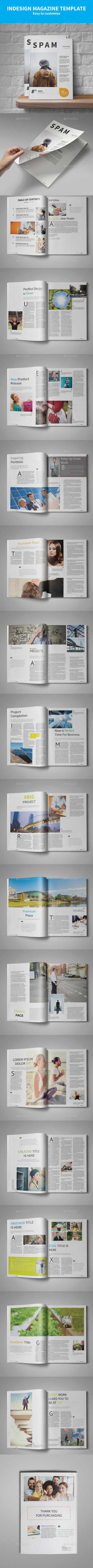 Spam Multipurpose - Magazines Print Templates