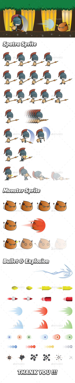 Spatra Sprite - Sprites Game Assets