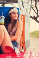 Beach Lifestyle Surfer Girl in Vintage Surf Van - PhotoDune Item for Sale