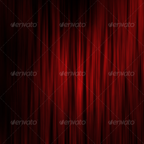 Theater Curtains effect background - Fabric Textures