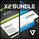 Business Card Bundle 18 - GraphicRiver Item for Sale
