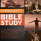 Community Bible Study Church Flyer - GraphicRiver Item for Sale