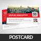 Corporate Business Postcards Psd  - GraphicRiver Item for Sale