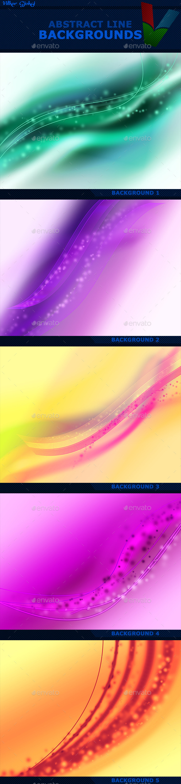 Abstract Line Backgrounds - Abstract Backgrounds
