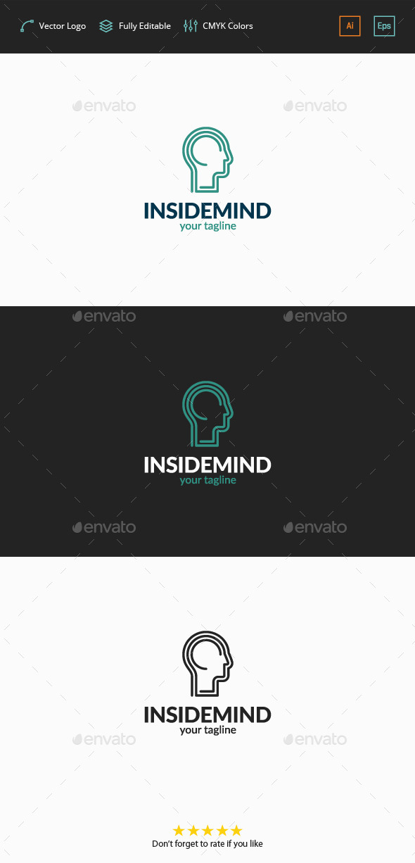 Inside Mind Logo - Humans Logo Templates