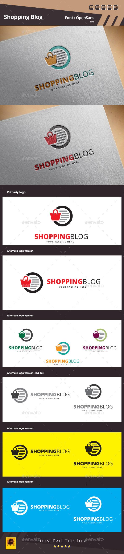 Shopping Blog Logo Template - Symbols Logo Templates