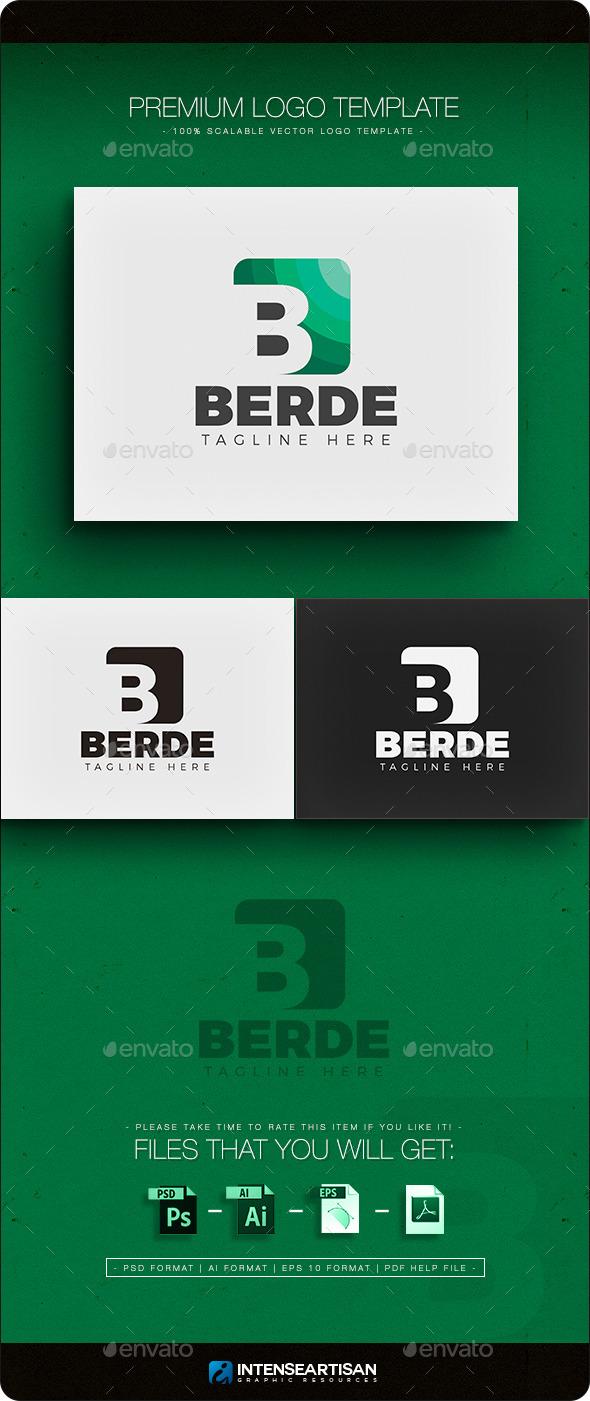 Berde Logo  - Letters Logo Templates