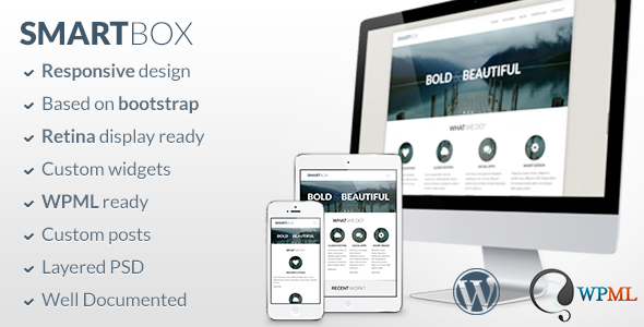 SmartBox – Responsive WordPress Bootstrap Theme