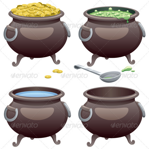Cooking Pot - Man-made Objects Objects