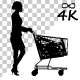Woman Walk With Baby Cart - 97