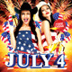 July 4th Party Flyer Template - GraphicRiver Item for Sale