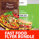 Fast Food Flyer Bundle  - GraphicRiver Item for Sale