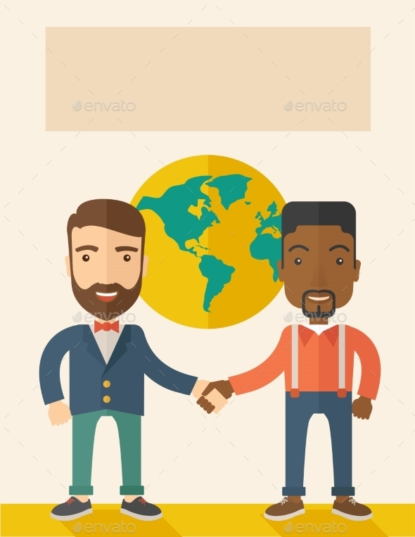 Guys Handshaking - Concepts Business